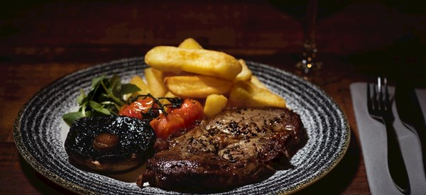 Steak Night at The Apple Bay Restaurant