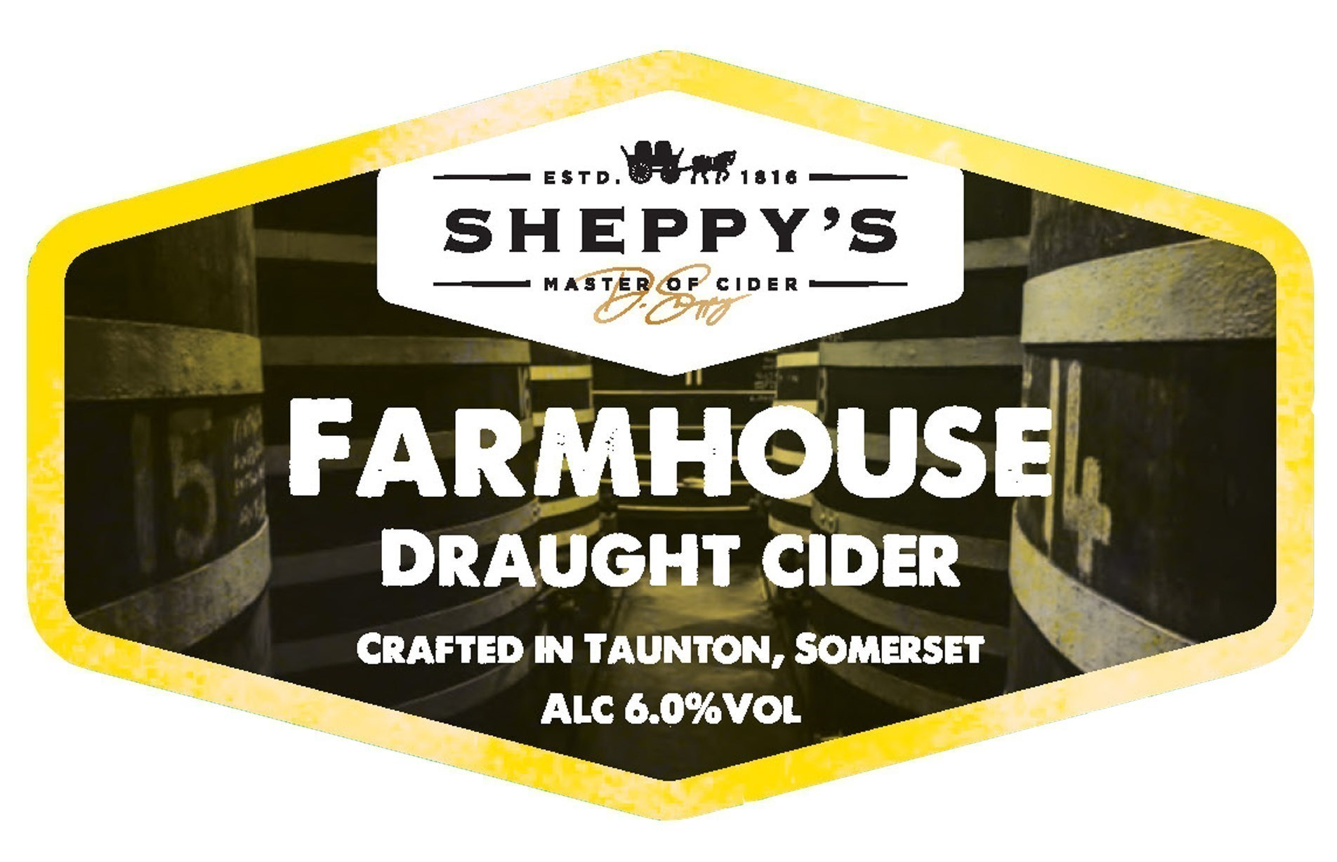 Sheppy's Farmhouse Draught Cider- Dry