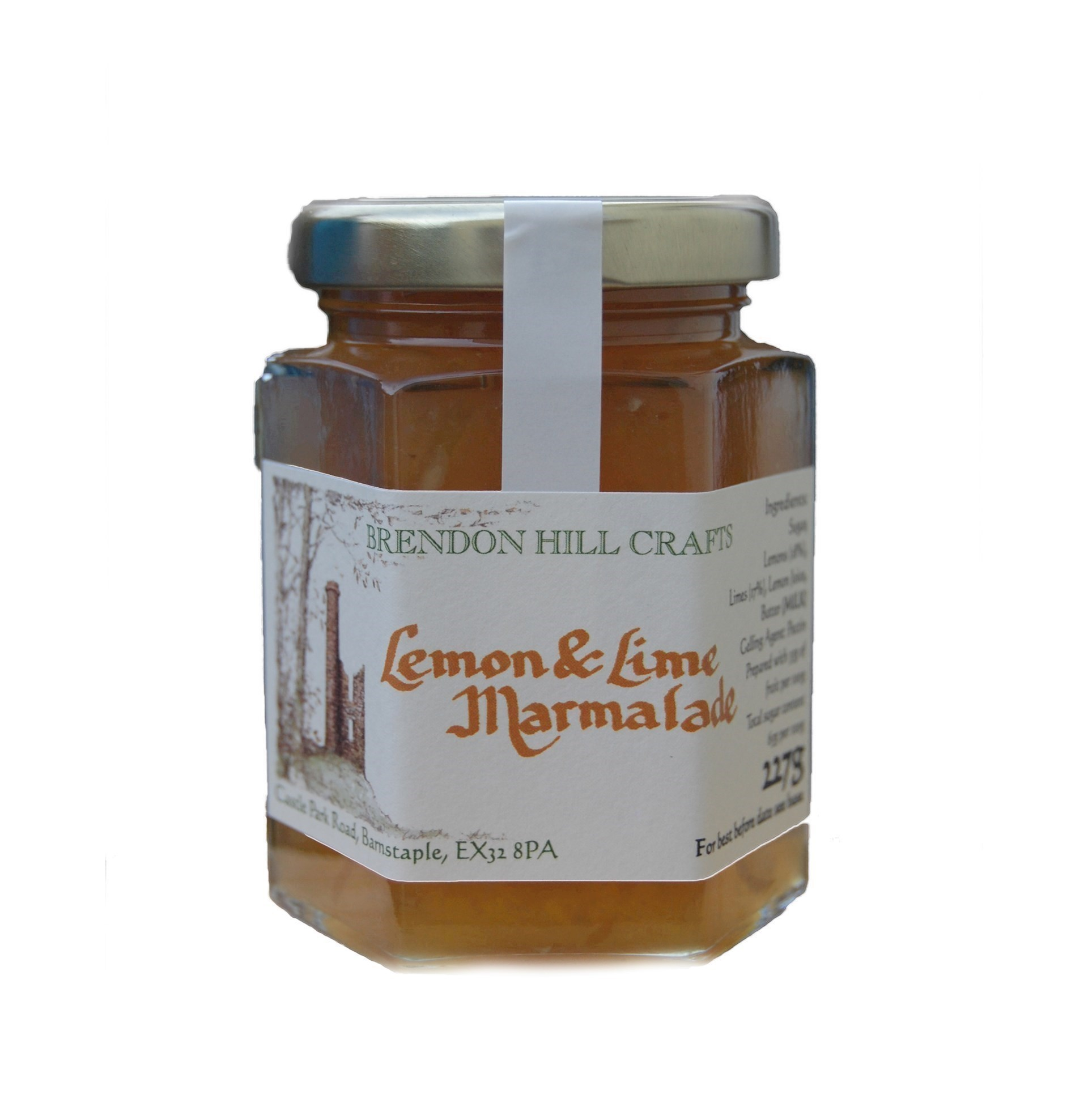 Brendon Hill Crafts Lemon & Lime Marmalade