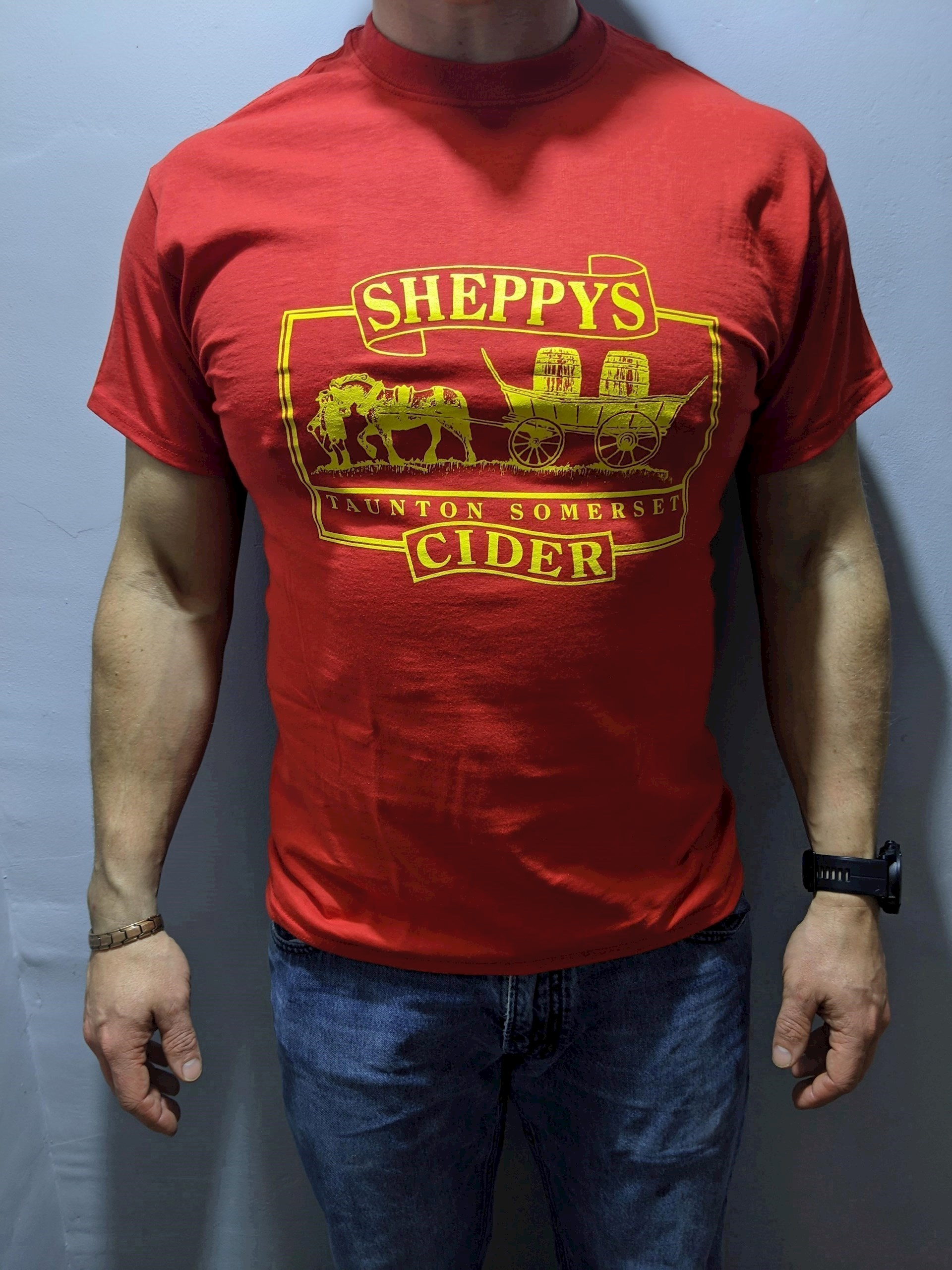 Sheppy's Old Logo T-shirt Red