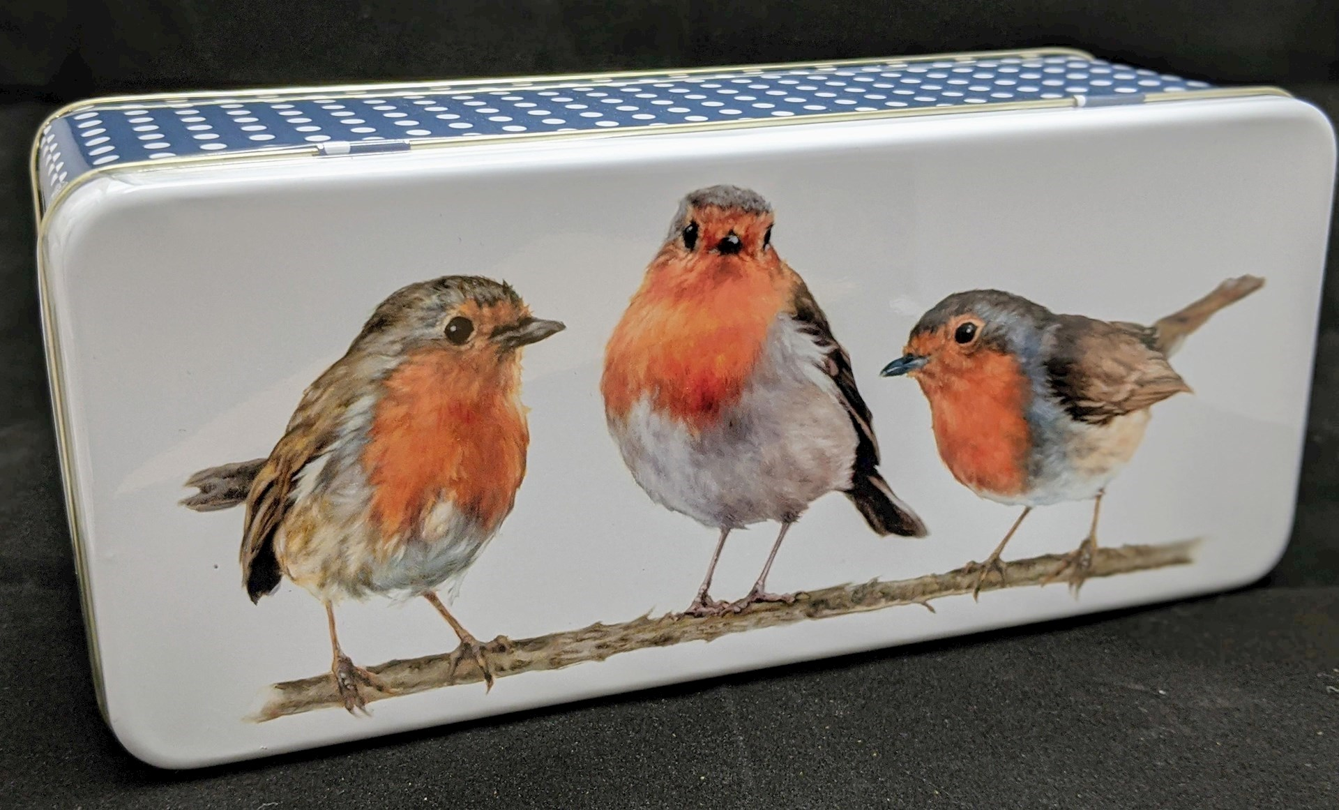 Robin Biscuit Tin